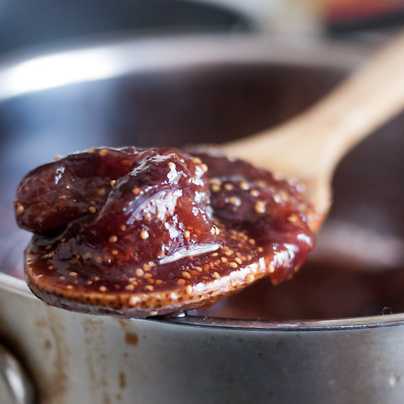 Goat Cheese Ice Cream with Caramelized Spiced Figs - FMITK ...