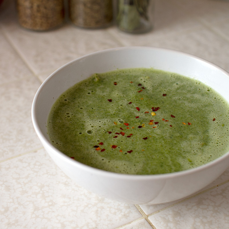 Spicy Spinach and Coconut Milk Soup - FMITK: From My Impossibly Tiny ...