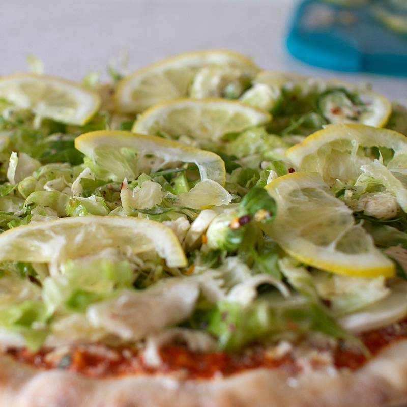 Trader Joe's Hack: Brussels Sprouts, Lemon and Egg Pizza Margherita ...