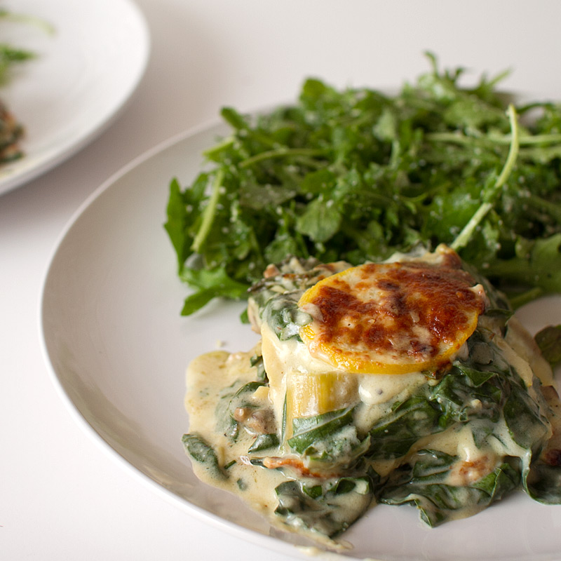 Swiss Chard, Mushroom and Lemon Lasagna - FMITK: From My ...