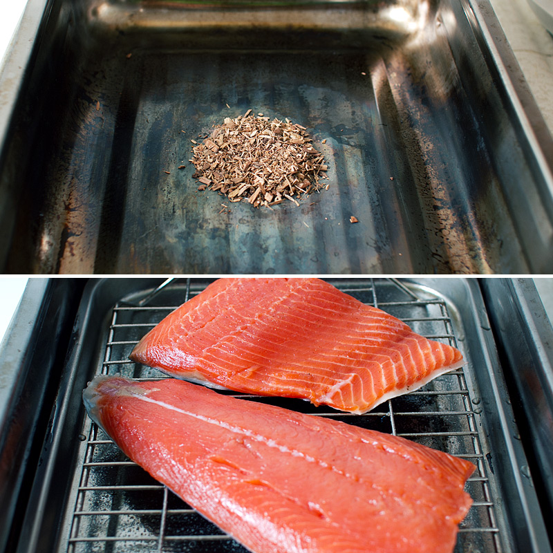 Best Wood Chips Smoking Salmon : Wood chips to smoke the salmon for i usually use alder