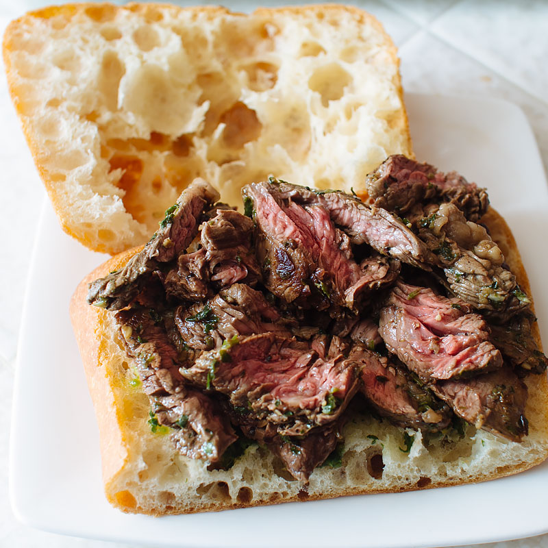 Asian Chimichurri Steak Sandwich - FMITK: From My Impossibly Tiny ...