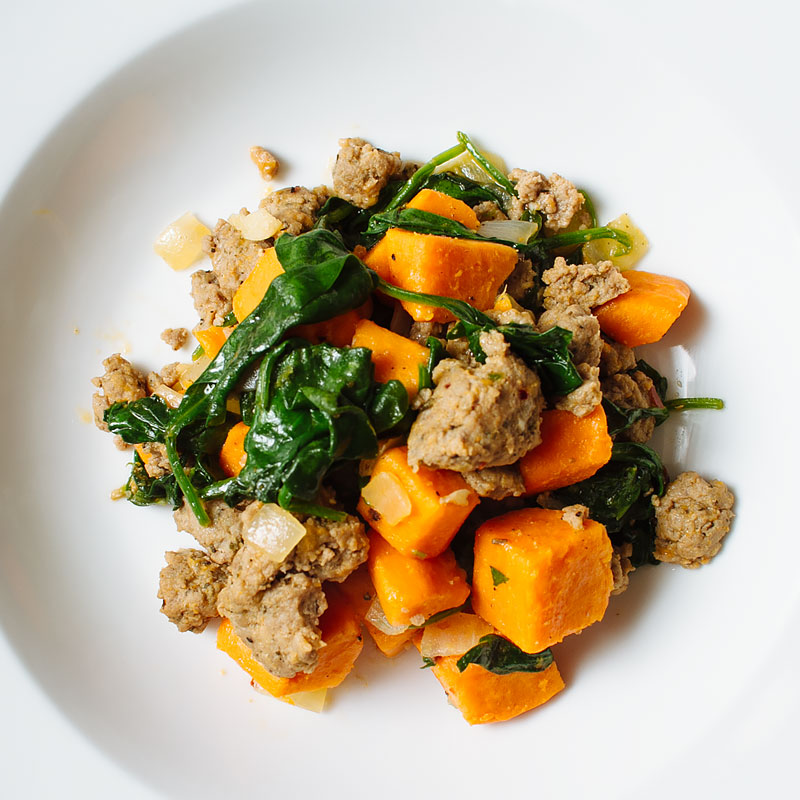 Spicy Turkey Sausage and Sweet Potato Hash - FMITK: From ...
