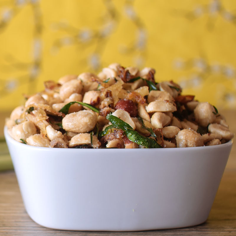 EGBOK Fragrant and Spicy Peanuts on fmitk.com